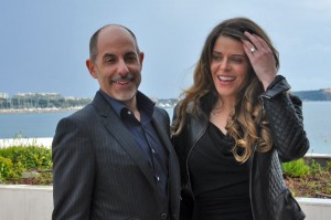 David Goyer and wife