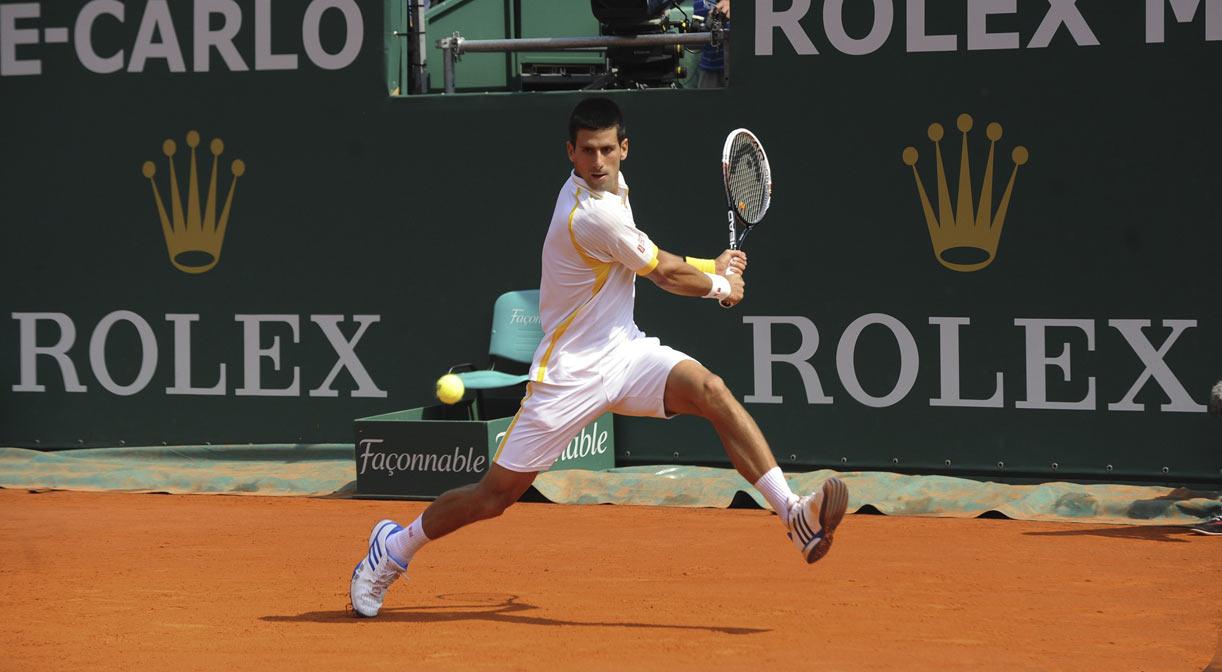 Novak Djokovic at Monaco Rolex Masters