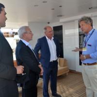Antibes Yacht Show inauguration