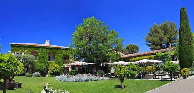 Jardin of flavours in an enchanting oasis at hotel de mougins - Hotel de mougins restaurant le jardin ...