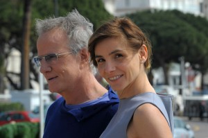 Christophe Lambert & Clotilde Courau