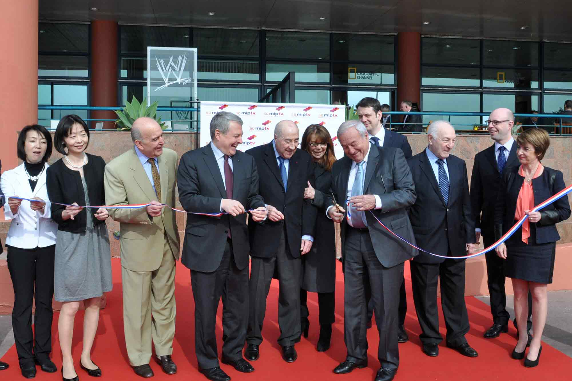 miptv 2013 inauguration