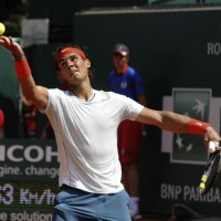 Raphael Nadal at Monaco Rolex Masters