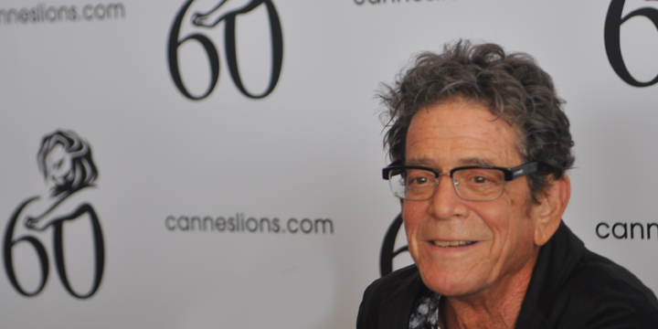 Cannes Lions Lou Reed