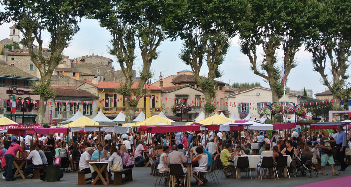 Fetes Gourmand in Villeneuve Loubet
