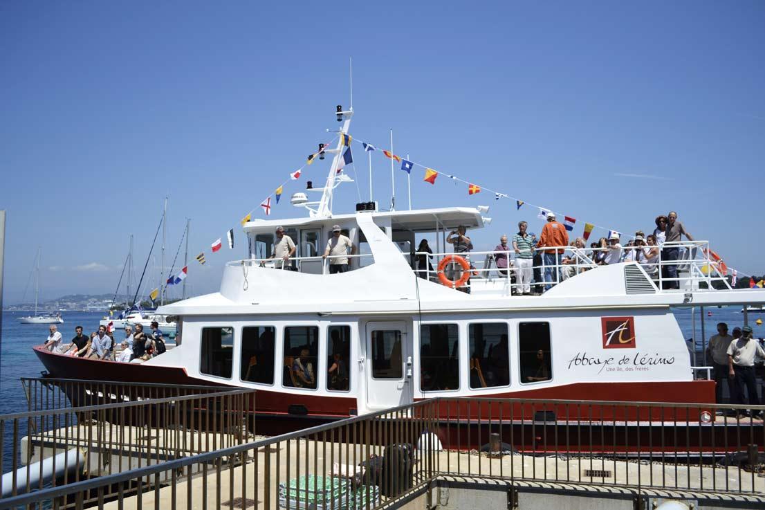 lerins islands monks boat