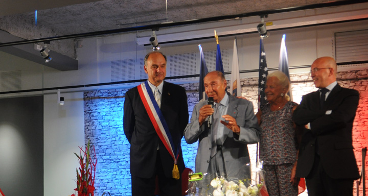 serge dassault medal theoule