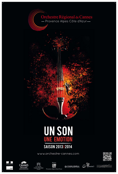 2013-2014 concerts season poster