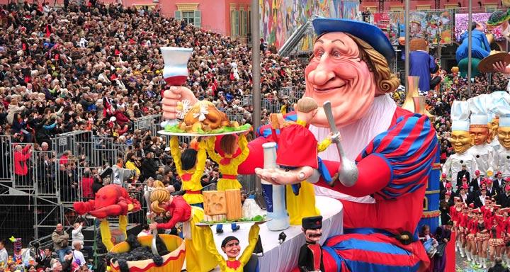 Карнавал в Ницце - зима во Франции, куда поехать зимой во Франции, что посмотреть зимой во Франции, карнавалы во Франции, зима в ПРованса, зима в Ницце