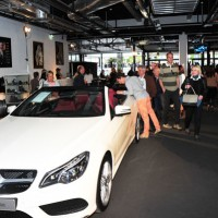 mercedes benz pop up store cannes