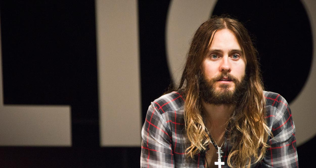 Jared Leto Seduces Cannes Lions 2014 - YesICannes