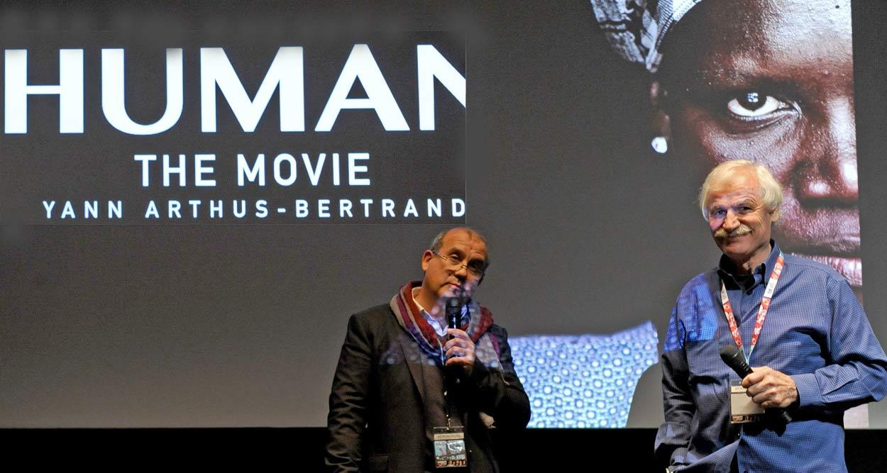Yann Arthus Bertrand Human Mipcom