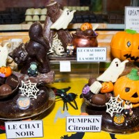 jean-patrice paci halloween chocolate-