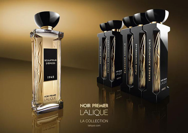 alique noir premier fragrance collection
