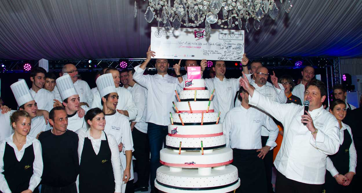 chefs chateaux hotels collections restos coeur 2014