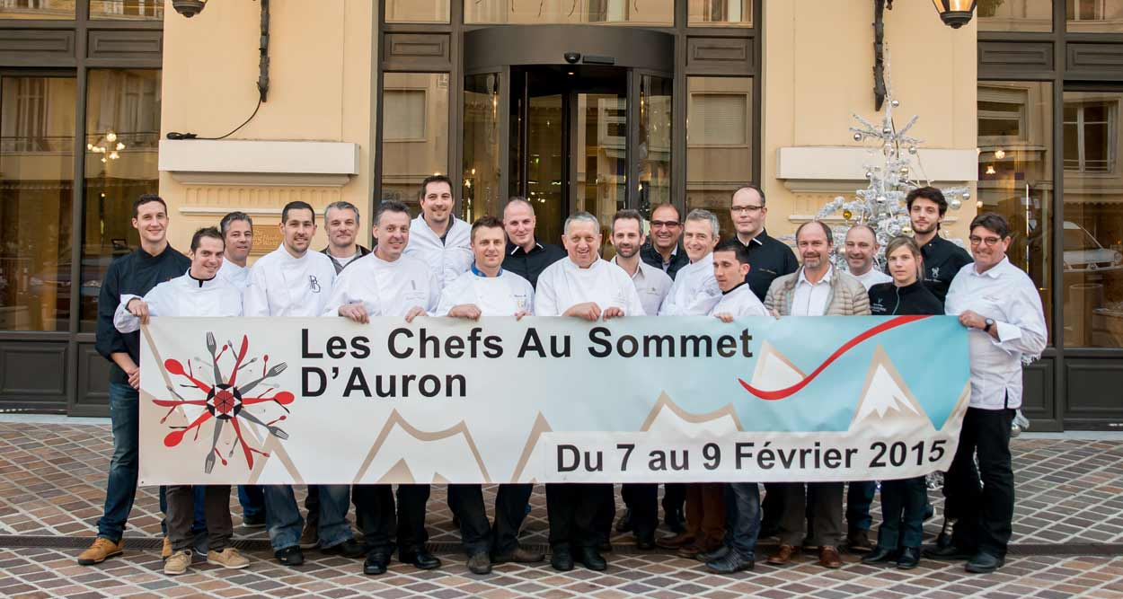 auron chefs au sommet 2015