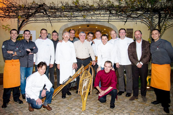 chefs au sommets auron 2015