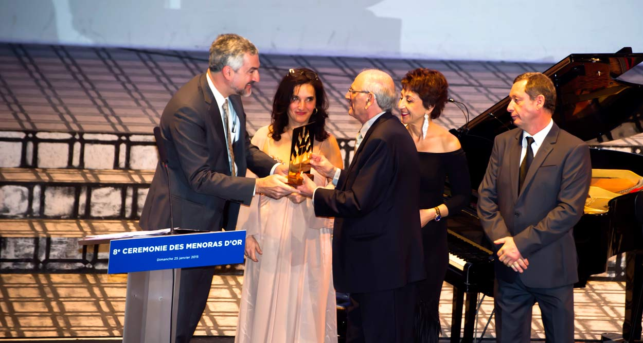 menoras d'or ceremony 2015