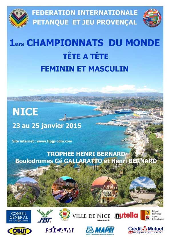petanque world championships single nice 2015