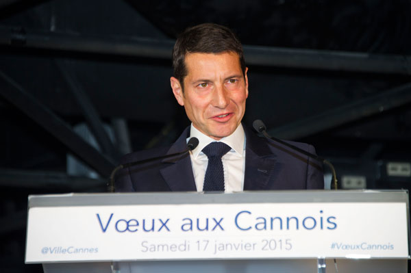 david lisnard cannes voeux 2015