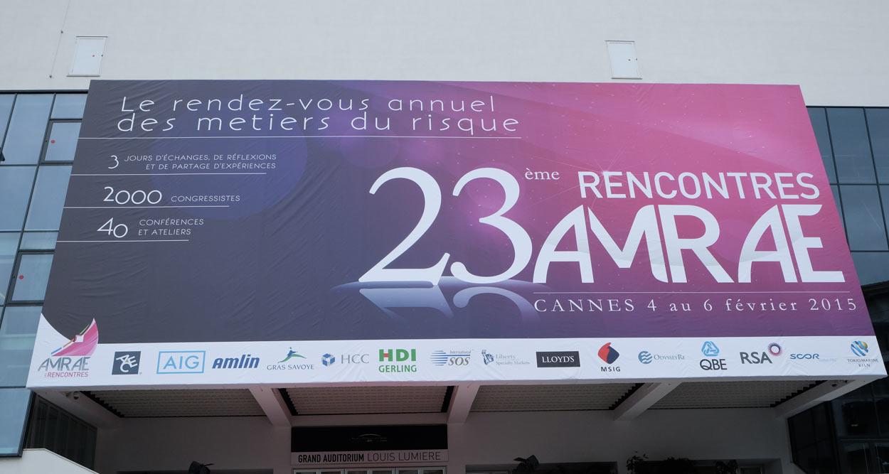rencontres AMRAE cannes 2015