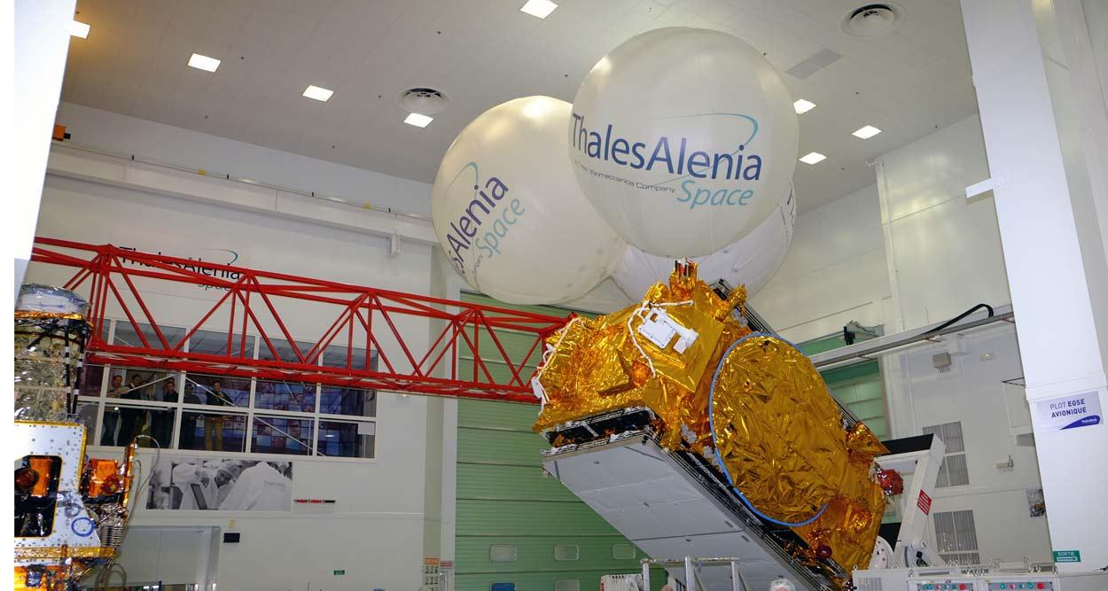 Thales Alenia Space Jean-Yves Le Drian