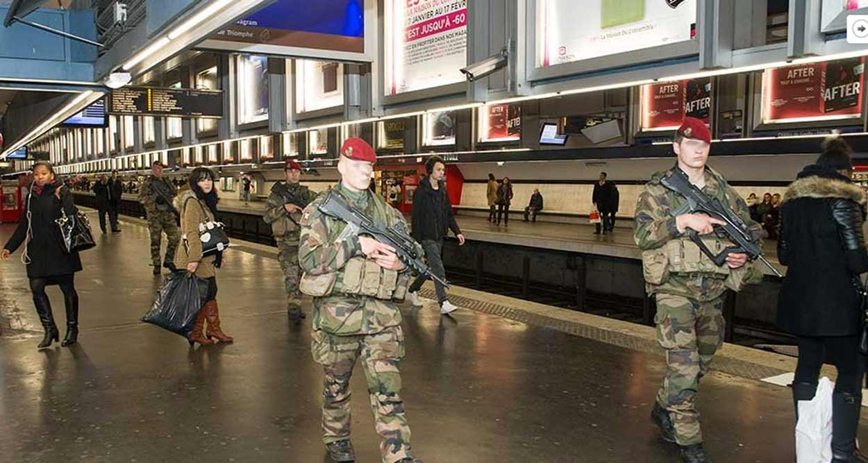 Vigipirate Attack Alert Plan in Alpes-Maritimes