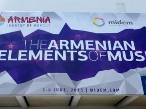 armenia country of honor midem 2015
