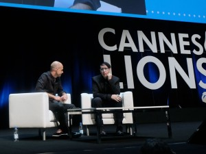 marilyn manson cannes lions 2015