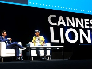 pharrell williams cannes lions 2015
