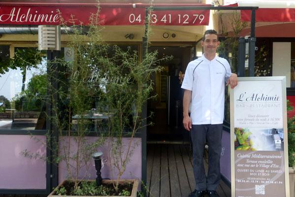 restaurant l'alchime eze village 2015