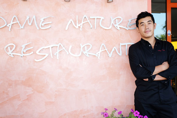 restaurant dame nature saint laurent du var