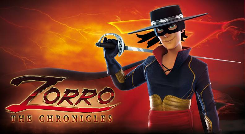 Zorro the chronicles a superhero at mipjunior