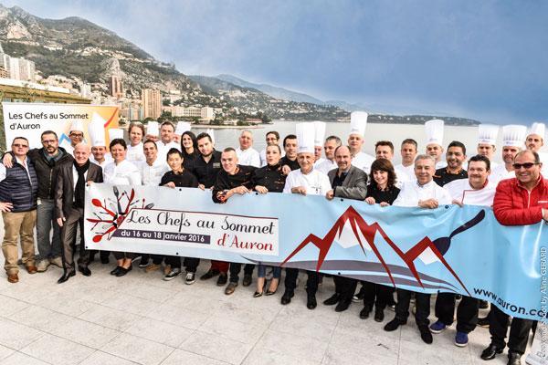chefs au sommet d auron 2016