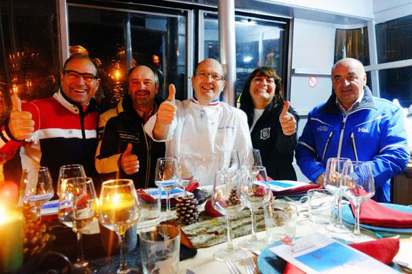 chefs au sommet d auron 2016 diner téléphérique