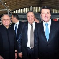 Joël Robuchon, Fabrice Prochasson & Christian Estrosi
