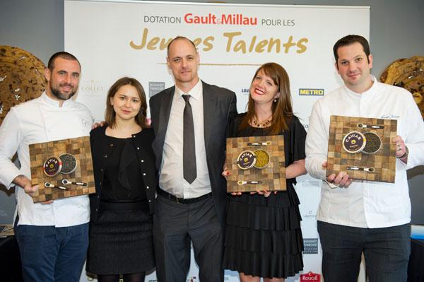 dotation gault et millau jeunes talents 2016