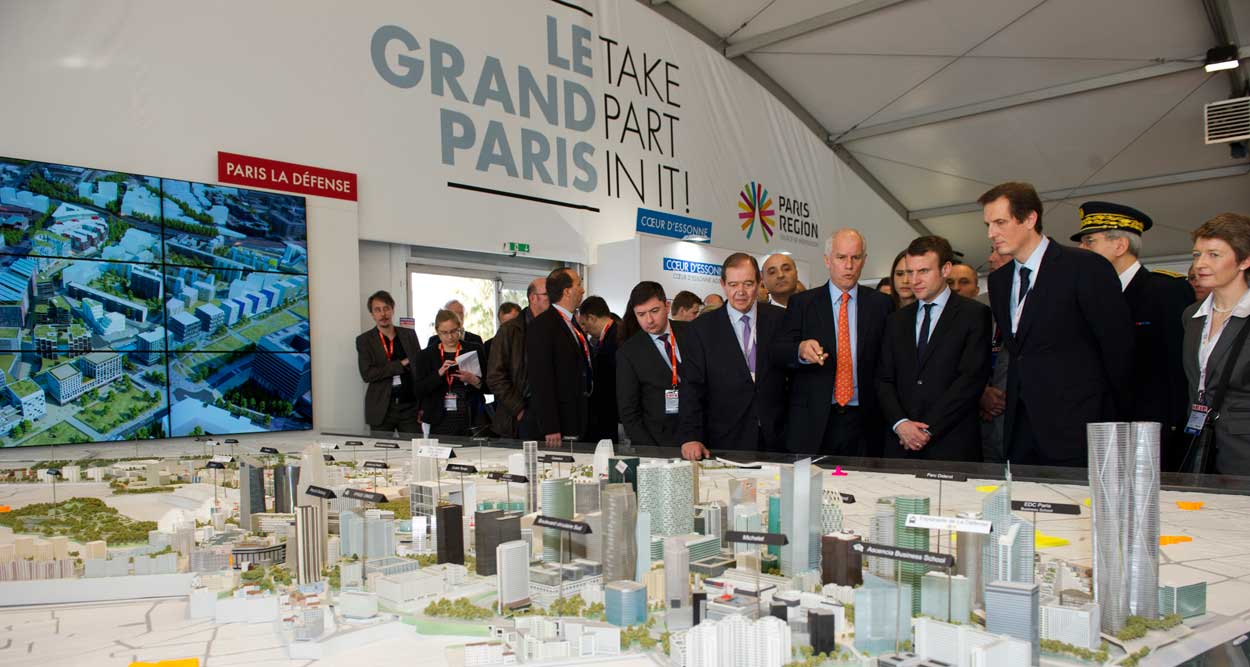 hubs du grand paris mipim 2016