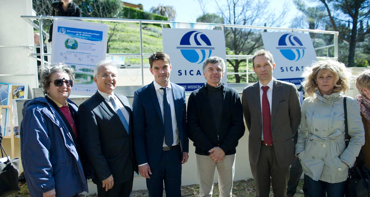 sicasil microcentrale hydroelectrique