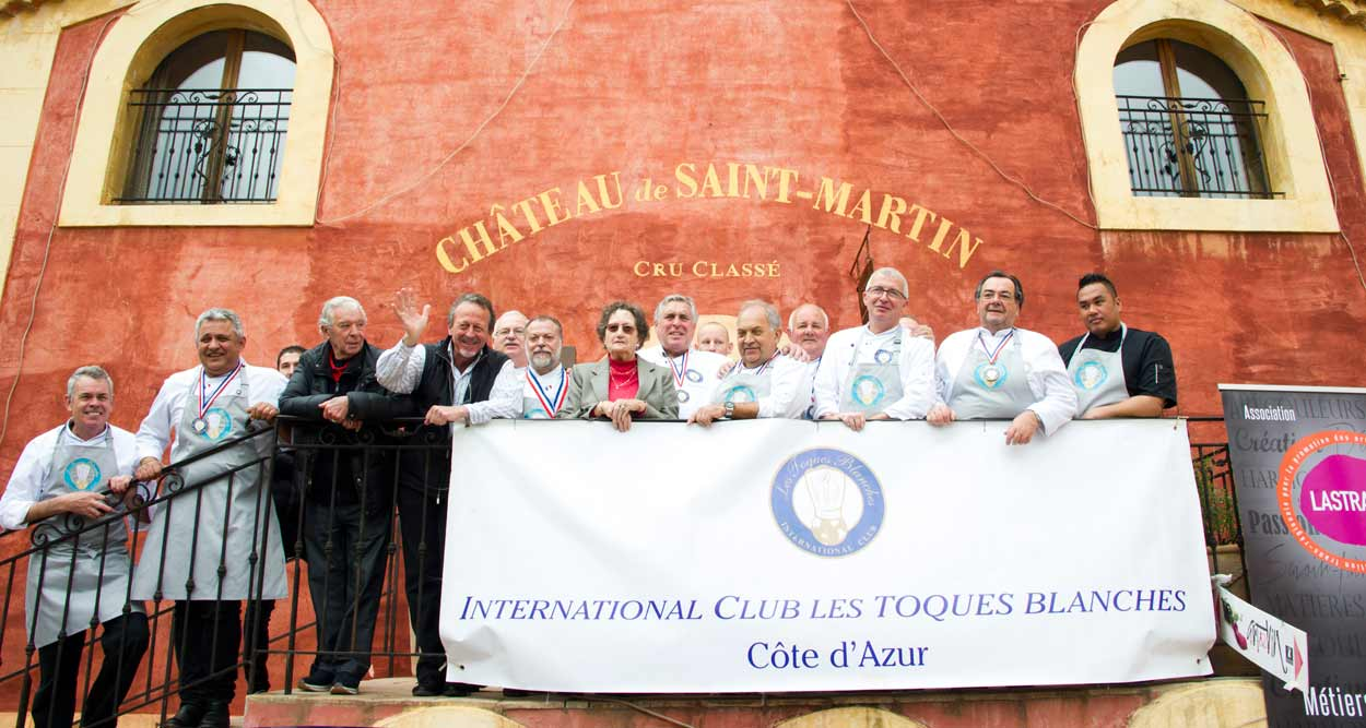 international club les toques blanches chateau saint martin