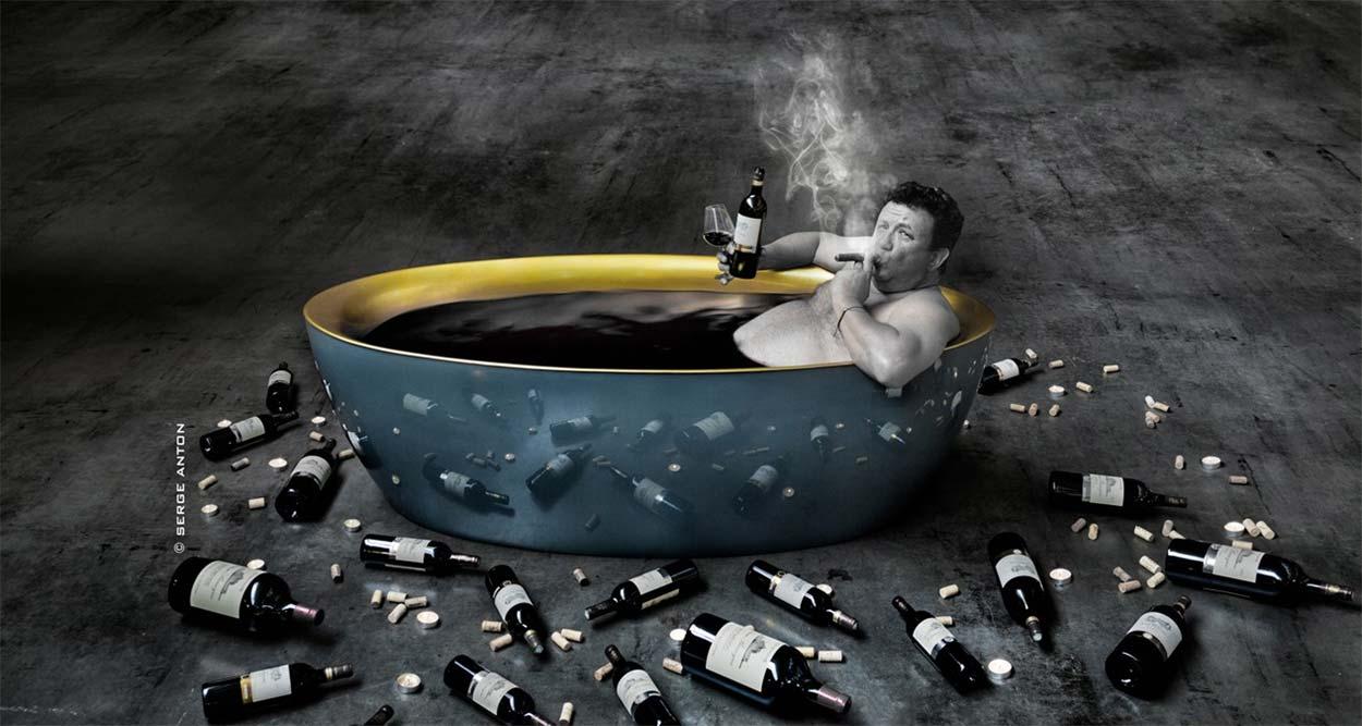 wine man show commanderie de peyrassol