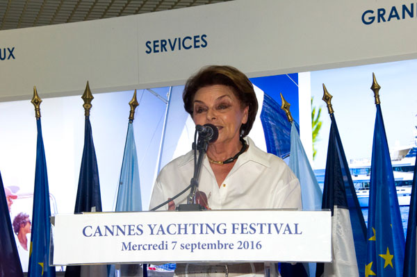cannes yachting festival 2016 inauguration