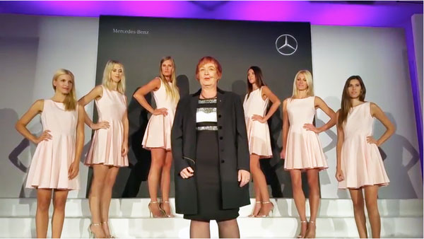 mercedes benz woman tfwa we 2016