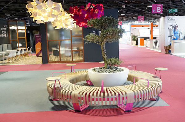 green furniture concept mapic 2016