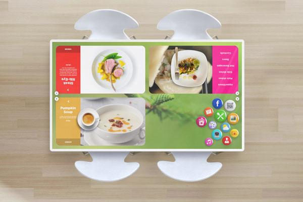 kodisoft interactive restaurant table