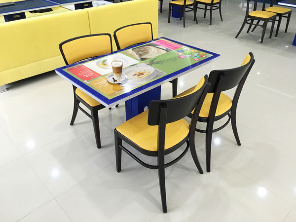 kodisoft interactive restaurant table