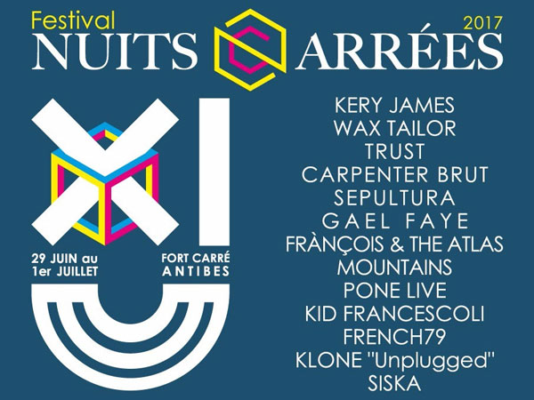 les nuits carrees antibes 2017