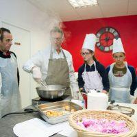 la cuisine des fleurs antibes rose