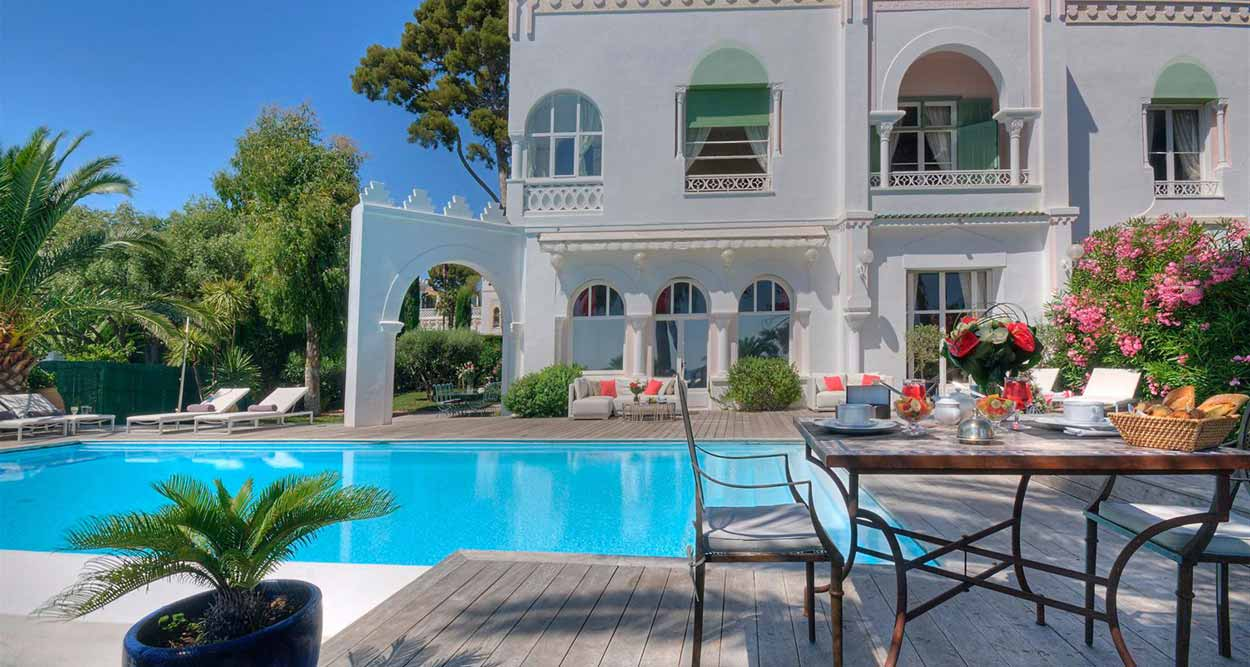 le bougainvillier parfum de haute gastronomie la villa mauresque. Black Bedroom Furniture Sets. Home Design Ideas