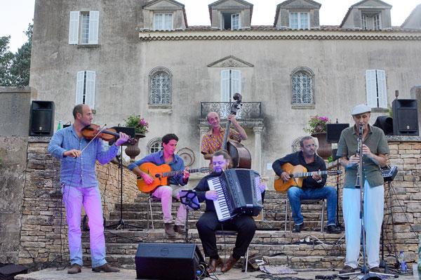 chateau roubine jazz manouche